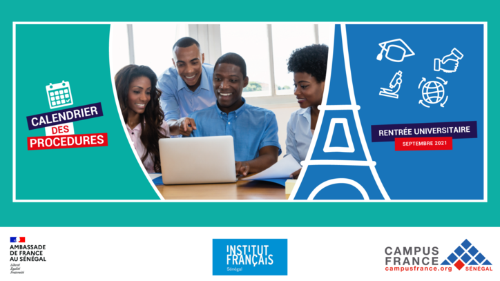 Calendrier Campus France Senegal 2021 2022 | Calendrier avent